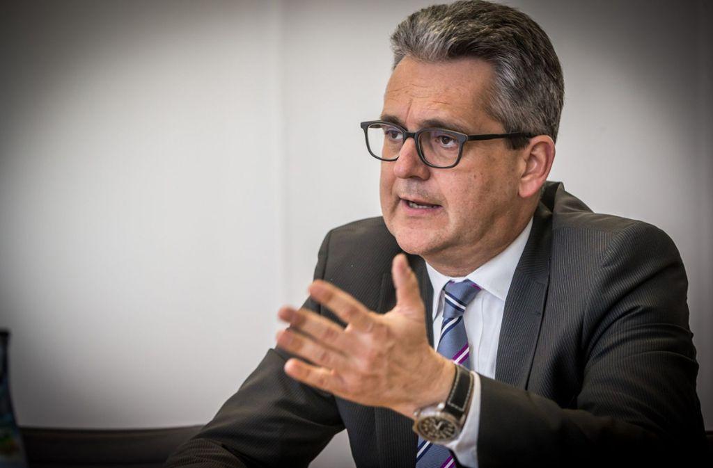 Strafzölle  gefährden nach Ansicht von VDMA-Landeschef Birk das positive Klima der Weltwirtschaft. Foto: Lichtgut/Achim Zweygarth