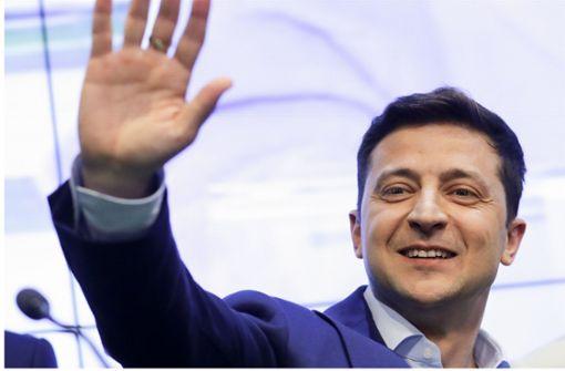 Ukrainischer Präsident positiv auf Corona getestet