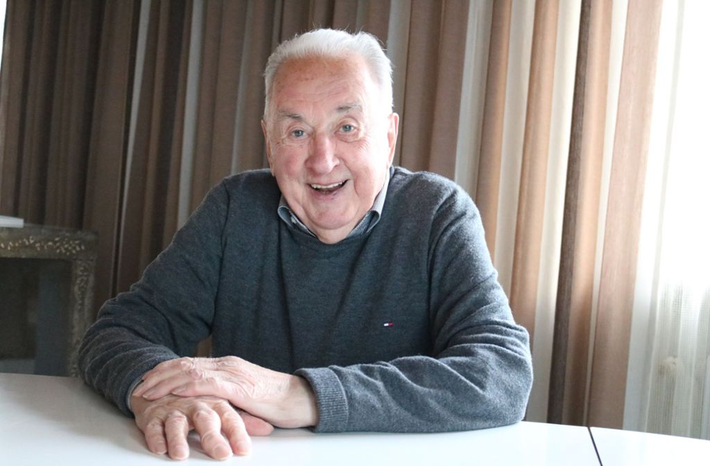 Richard Seeger kann es selbst kaum glauben, dass er nun 90 Jahre alt ist. Foto: Eva Herschmann