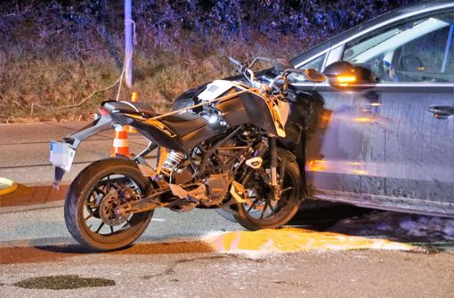 Mehrere Verletzte nach Motorradunfall