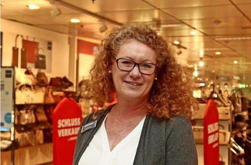 Die Karstadt-Chefin Gabriele Post fühlt sich wohl in Leonberg. Foto: factum/Granville