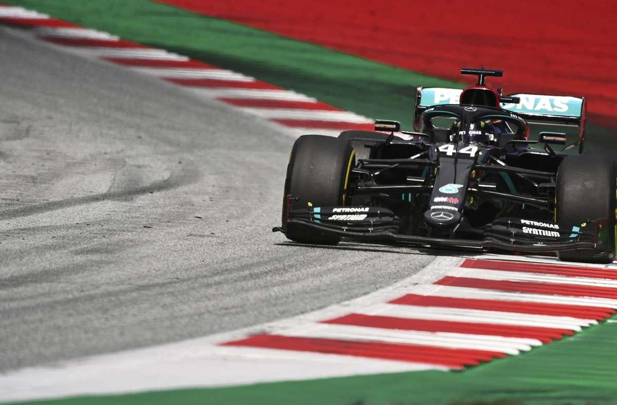 Lewis Hamilton fuhr einen souveränen Sieg ein. Foto: AP/Joe Klamar