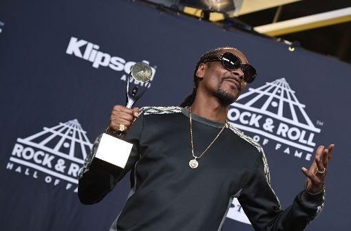Snoop Dogg würdigt Tupac Shakur
