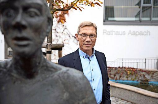 Aspacher Schultes sagt Servus