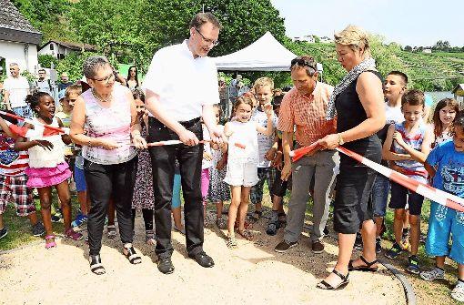 Die Kinder erobern die erste Neckar-Perle