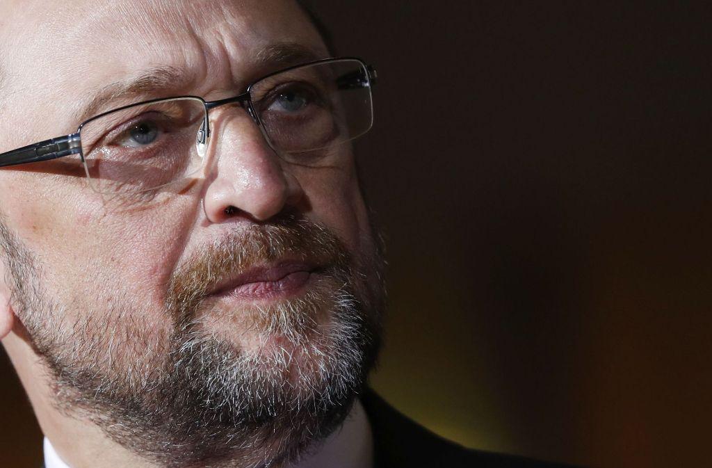 Der späte Start seiner Kandidatur könnte ein Nachteil für Martin Schulz sein. Foto: EPA