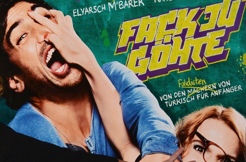 """Der Film """"Fack Ju Göhte""""erfreut sich größter Beliebtheit. Der Titel darf jedoch nicht als Marke geschützt werden. Foto: dpa-Zentralbild"""