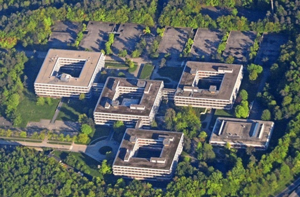 Das ehemalige IBM-Gelände in Vaihingen steht seit langem leer. Foto: dpa