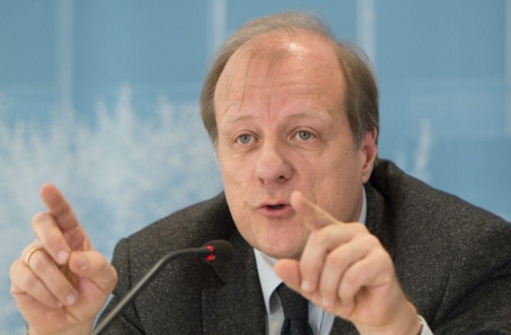 Unter seiner Leitung tagte der zweite Schlossgarten-Ausschuss: Jürgen Filius von den Grünen Foto: dpa