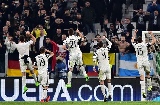 Khedira und Juve im Viertelfinale