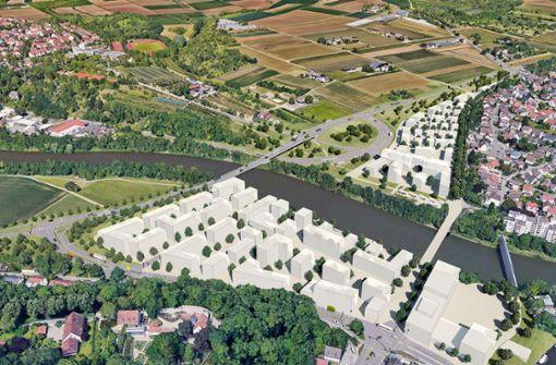 Die neue Neckarbrücke kann gebaut werden