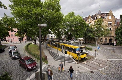 in Bad Cannstatt Der Kreisverkehr, der keiner ist  Bad Cannstatt