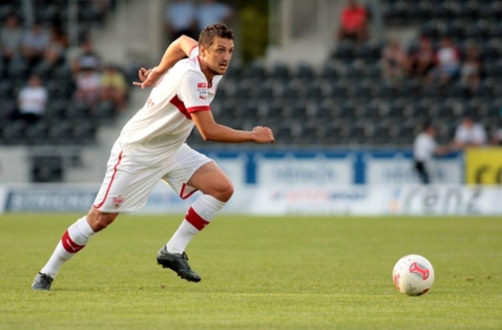 Zdravko Kuzmanovic will schnellstmöglich in die VfB-Stammelf. Foto: Baumann