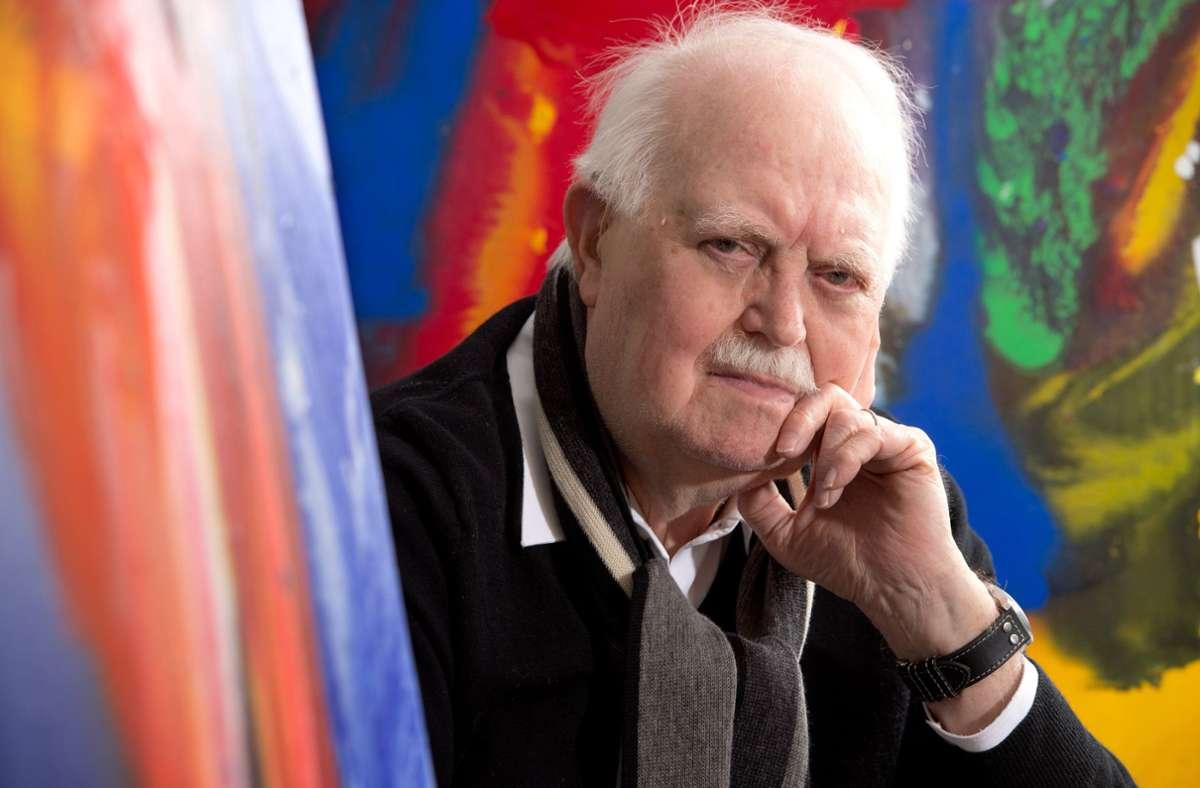 Der Pressefotograf und Maler Burghard Hüdig ist am Samstag im Alter von 87 Jahren gestorben. Foto: dpa/Bernd Weissbrod