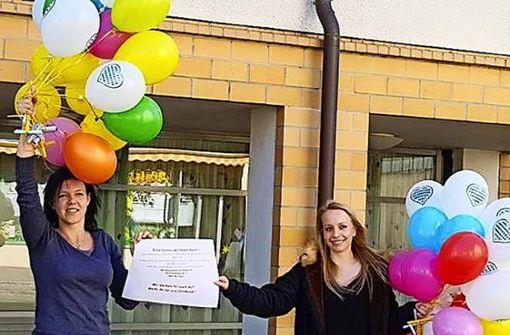 Ballons gegen die Einsamkeit