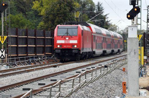 Rheintalbahn nach Wetterschäden wieder frei