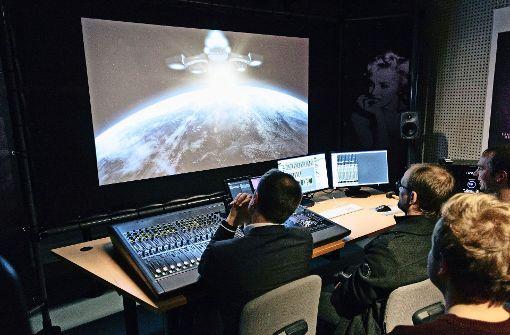 Das neue 3D-Audio-Studio  ist ein echtes Klangerlebnis. Foto: Lichtgut/Verena Ecker