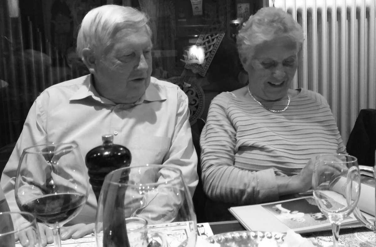 Albert und Maria Heim aus Ulm waren begeisterte Wanderer. Foto: privat