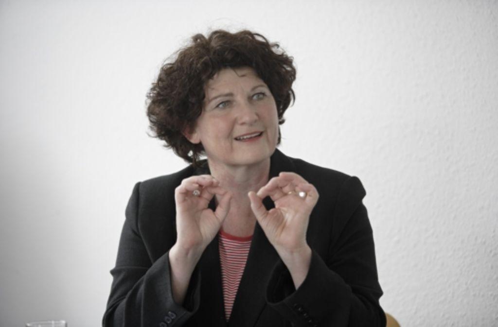 Bettina Wilhelm steht im StZ-Talk Rede und Antwort. Foto: Heinz Heiss