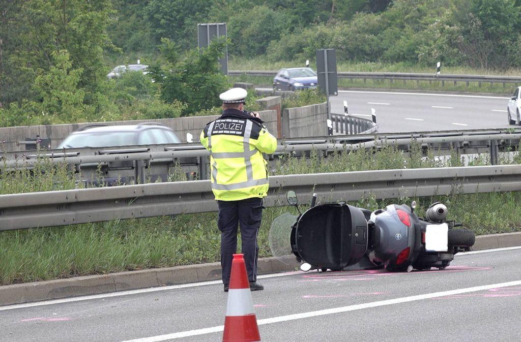 Der Unfall ereignete sich in der Nähe des Schattenrings. Foto: 7aktuell.de/Alexander Hald