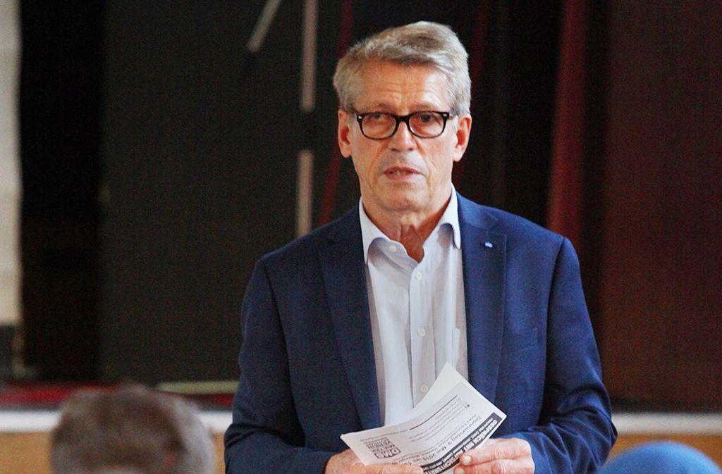 Rolf Gaßmann, Vorstand des DMB-Mietervereins Stuttgart Foto: Lichtgut