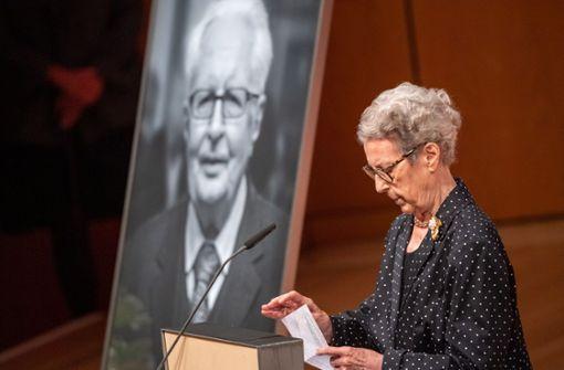 Familie und Freunde nehmen Abschied vom ehemaligen SPD-Vorsitzenden