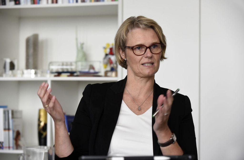 Die christdemokratische Bundesforschungsministerin Anja Karliczek will Weiterbildungswillige  großzügiger  unterstützen. Foto: Michael Ebner Foto: