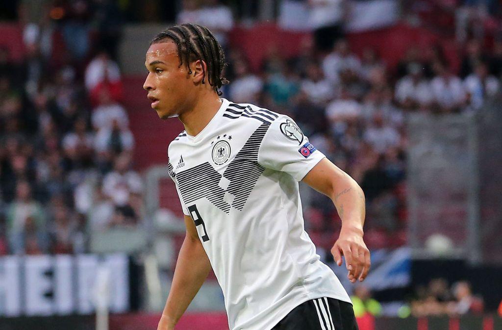 Der DFB hofft auf viele weitere Talente wie Leroy Sané. Foto: Pressefoto Baumann