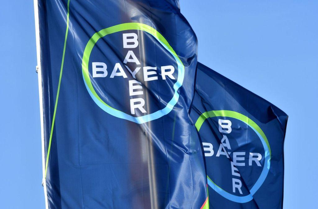 Der Pharmakonzern Bayer ist Hersteller des Magenmittels Iberogast. Foto: AFP