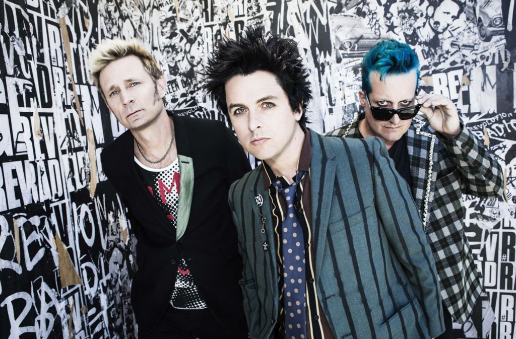 Die Band Green Day Foto: Label