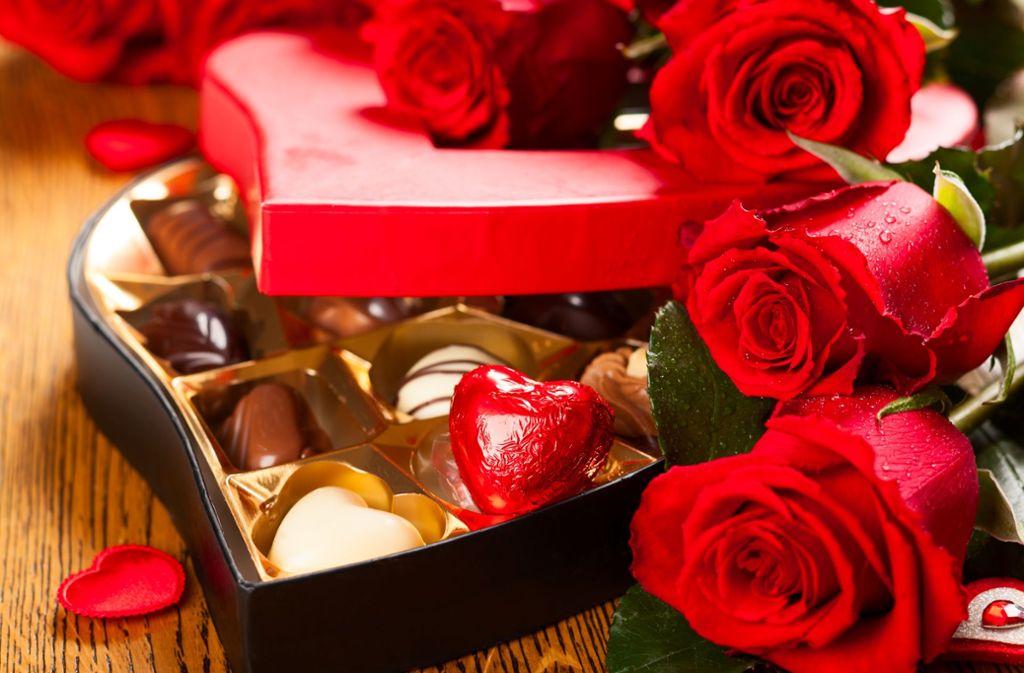 Ein besonderes Angebot zum Valentinstag. Foto: Shutterstock