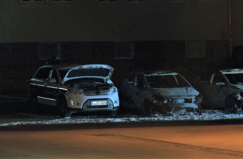 Was steckt hinter dem Brandanschlag auf eine Leipziger Polizeidienststelle? Foto: dpa