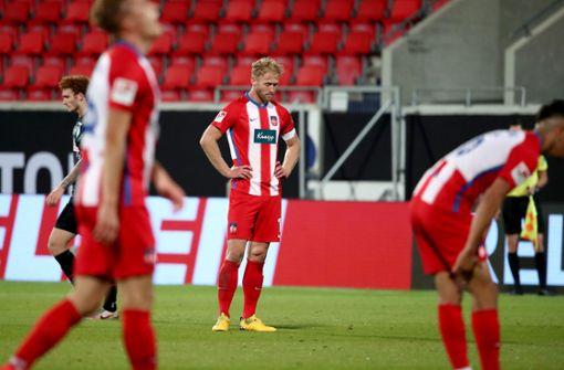 Dem 1. FC Heidenheim droht kein Absturz