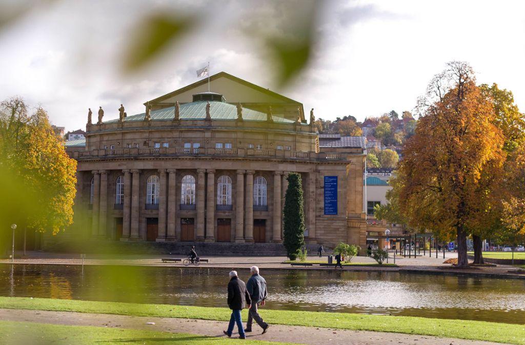 Ein Jahrhundertprojekt: das sanierungsbedürftige Opernhaus Foto: Lichtgut/Max Kovalenko