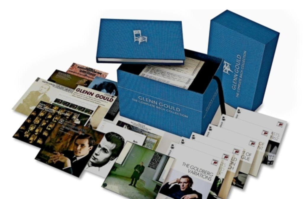 Prachtwürfel für ein Genie: Sony Classical widmet Glenn Gould 81 CDs samt Luxus-Buch. Foto: Sony