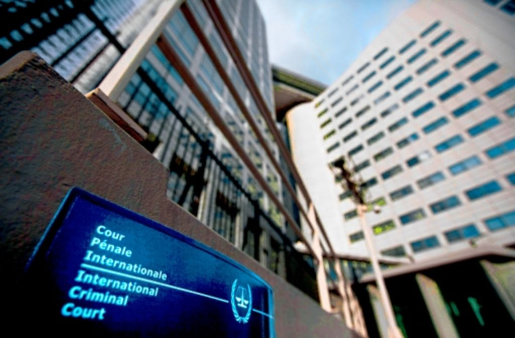 Hier enden die Karrieren mancher Kriegsverbrecher: der Internationale Strafgerichtshof in Den Haag. Foto: dapd