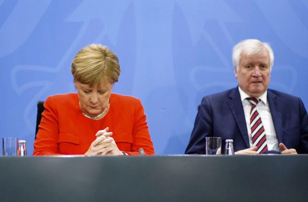 Die Regierungsparteien kommen im Deutschlandtrend nur noch auf 41 Prozent der Stimmen. Foto: AP