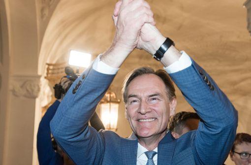 SPD-Politiker bleibt Leipziger Oberbürgermeister