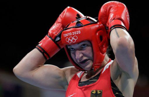 Abschiedstränen einer Boxerin