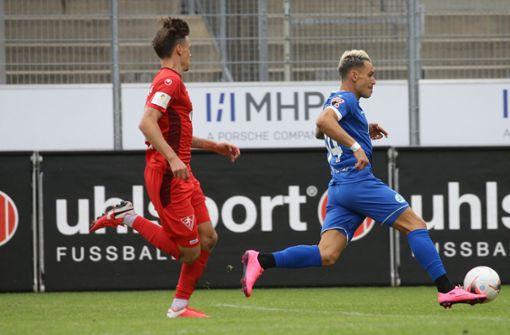 Stuttgarter Kickers spielen Remis in Villingen