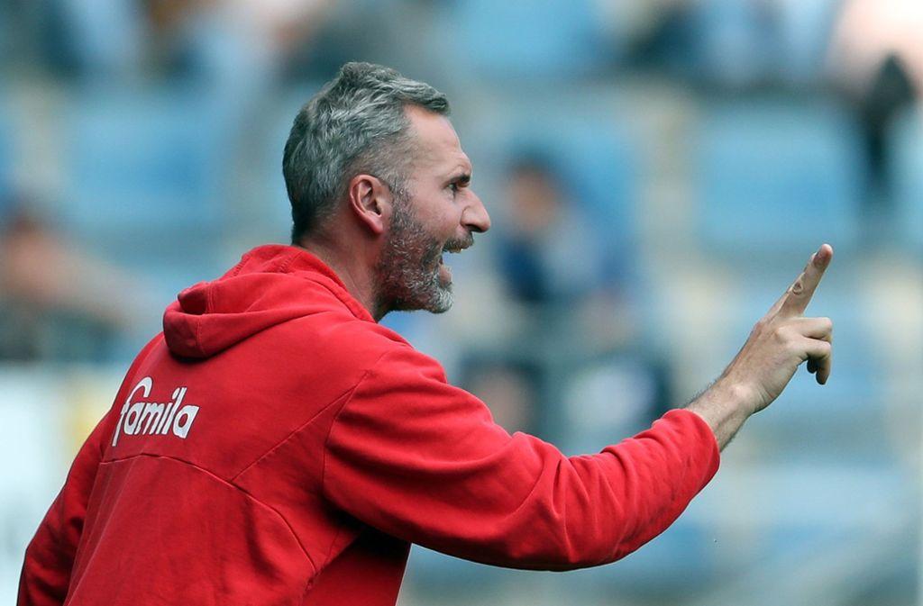 VfB-Chefcoach Tim Walter: Der bisherige Trainer von Holstein Kiel setzt auf eine gesunde Mischung in seinem Trainerteam. Foto: dpa