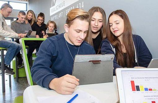 Schnelles Internet hält nach und nach in Schulen Einzug