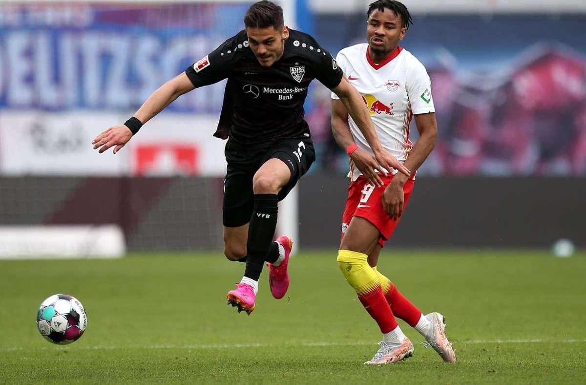 23 500 Zuschauer werden zum VfB-Spiel in Leipzig zugelassen. Foto: Pressefoto Baumann/Cathrin Müller