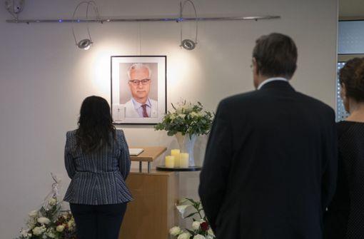 Trauerfeier für getöteten Chefarzt der Berliner Schlosspark-Klinik