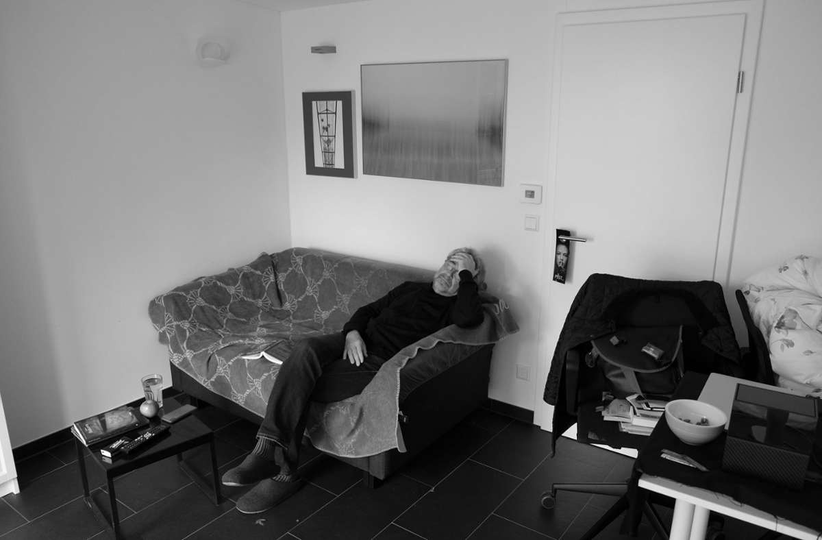 In den ersten Tagen nach dem positiven Befund fühlt sich Konstantin Tschovikov extrem kraftlos. Foto: Konstantin Tschovikov