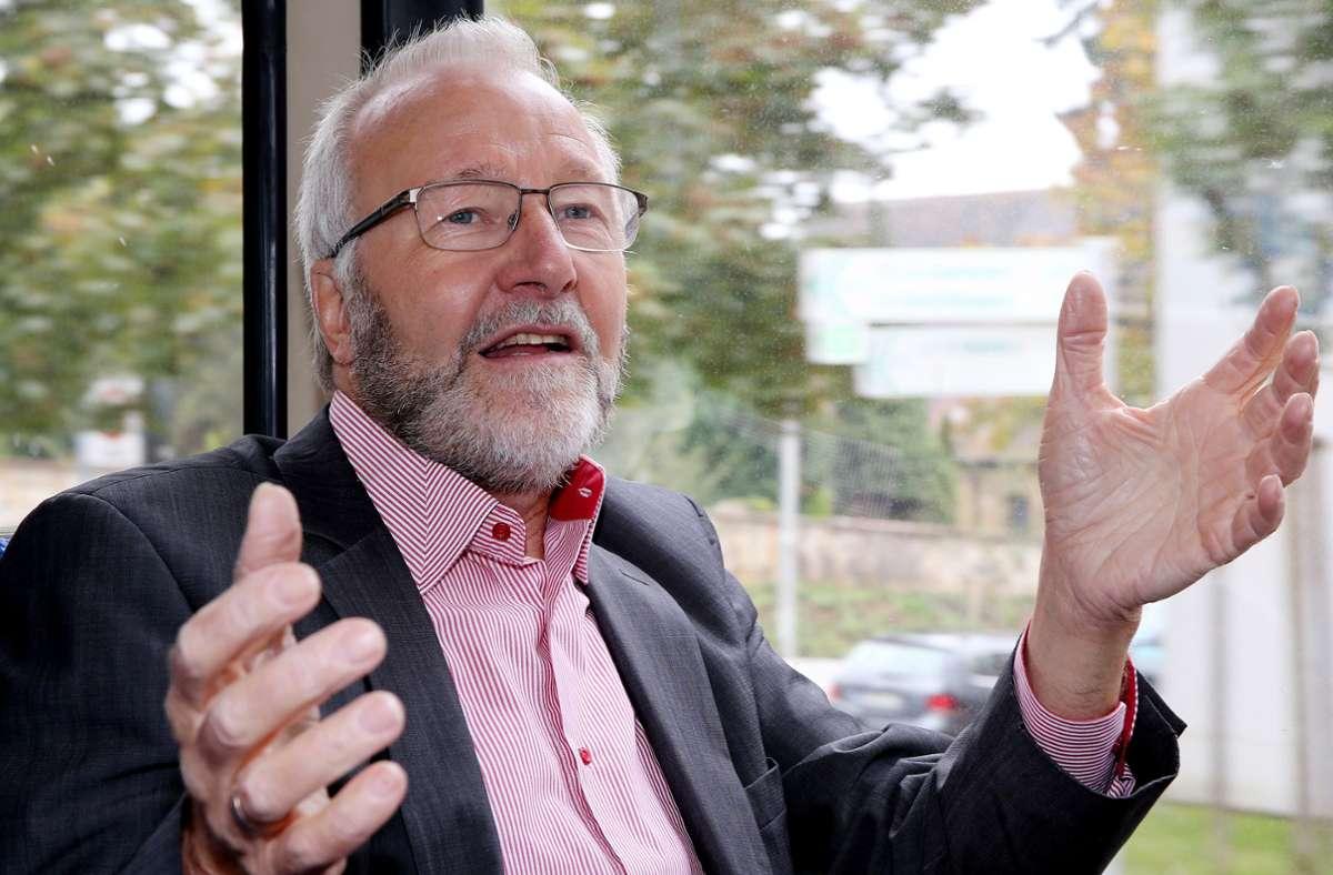 Rainer Brechtken sieht sich noch immer als politischen Menschen. Foto: Baumann