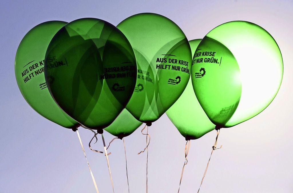 Der Ortsverein der Grünen in L.-E. hat Zulauf – seit 2018 hat er 21 neue Mitglieder verzeichnen können. Foto: dpa/Jochen Lübke