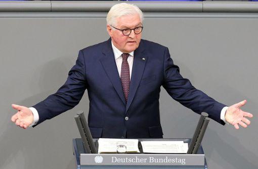 "Steinmeier fordert Kampf gegen ""neuen aggressiven Nationalismus"""