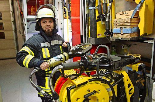 Flüchtling engagiert sich bei der Feuerwehr