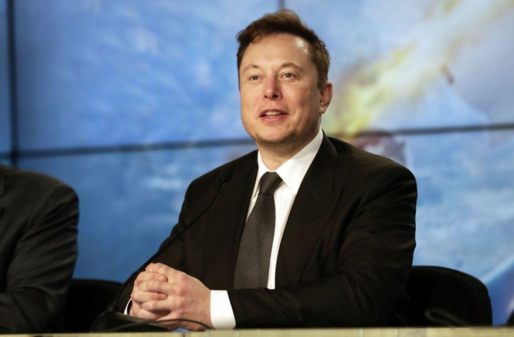 Elon Musk tritt immer wieder als Missionar in eigener Sache auf. Foto: dpa/John Raoux